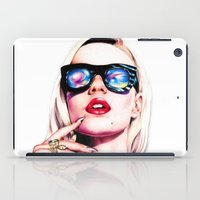 iggy iPad Cases featuring Iggy Azalea Portrait by Tiffany Taimoorazy