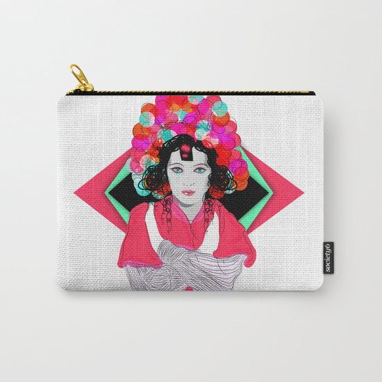 Anna May Carry-All Pouch