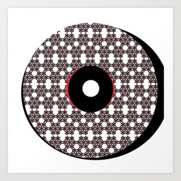 Yum, donuts Art Print