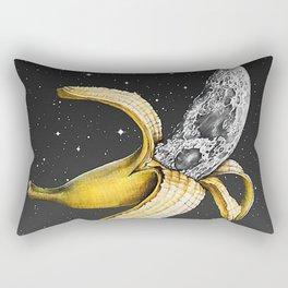 Moon Banana Rectangular Pillow