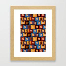 STARFLEET Framed Art Print