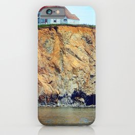 Cliffs of Perce Panoramic iPhone Case
