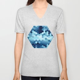Hexazure Unisex V-Neck