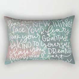 trust your journey Rectangular Pillow
