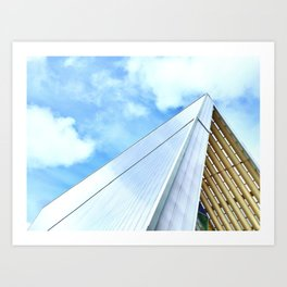 The Cardboard Cathedral Art Print