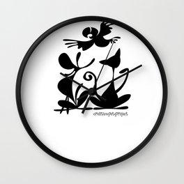 Pet Logo Wall Clock