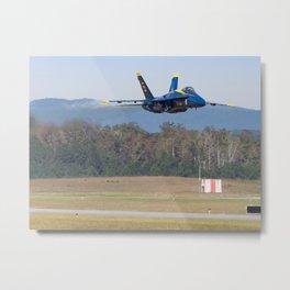 Flat pass at Wings Over North Georgia Metal Print