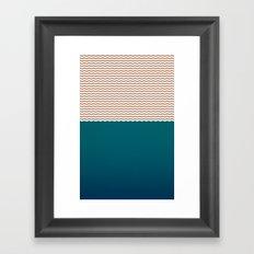 Empty Ocean Framed Art Print