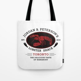 Jordan Peterson - Lobster Shack 2 Tote Bag