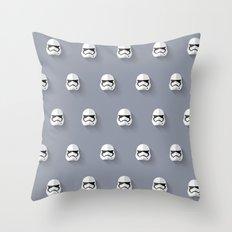 Stormtrooper Episode VII Flat Design Mosaic Throw Pillow