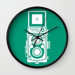 Yashica Mat 124G Camera Emerald Wall Clock