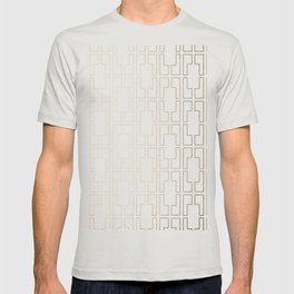 Simply Mid-Century in White Gold Sands T-shirt