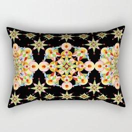 Sparkly Carousel Confetti Rectangular Pillow