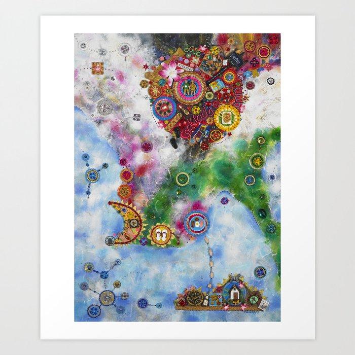 Places Series - Thailand Art Print