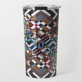textile geometry Travel Mug