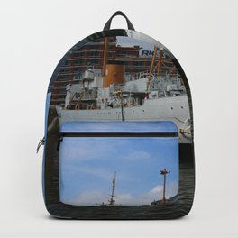 Coast Guard Cutter Taney Baltimore Harbor Backpack