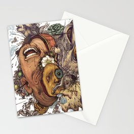 panic color  Stationery Cards