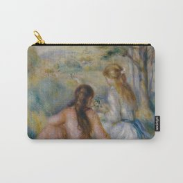 """Pierre-Auguste Renoir """"In the Meadow"""" Carry-All Pouch"""