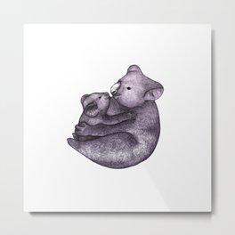 Koala Bear Love  Metal Print
