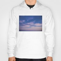 trippy Hoodies featuring Trippy Sky by Marie Carr