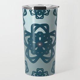 Blue Dianne Madalas Travel Mug