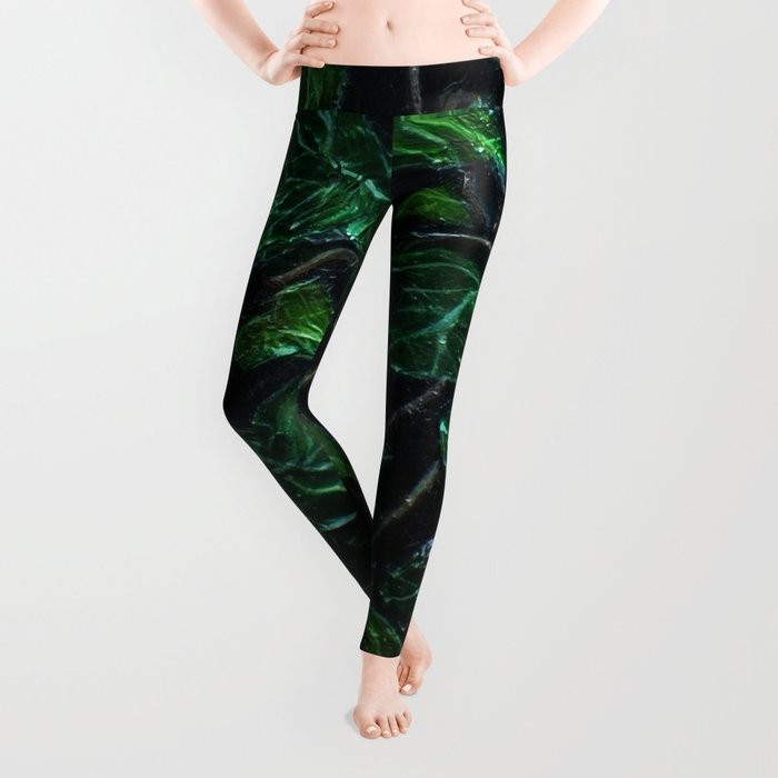 Ivy Leaves Study Leggings