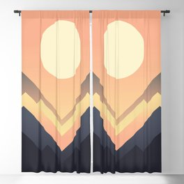 The Sun Rises Blackout Curtain