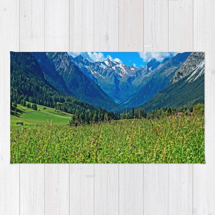 Bergwiese mit Talschluss Rug