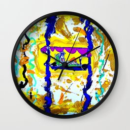 Arrival of the Queen of Sheba        by Kay lipton Wall Clock