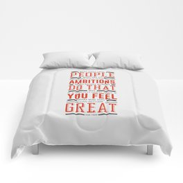 Lab No. 4 Keep Away From People Mark Twain Inspirational Quote Comforters