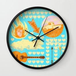 FOLKSY VIBES Wall Clock