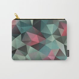 Polygon pattern 8 Carry-All Pouch