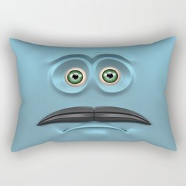BOXAAT CYAN Rectangular Pillow