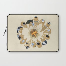 Finding Warmth Together Laptop Sleeve