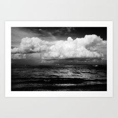 Clouds over the Causeway Art Print