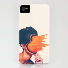 Carrot Face iPhone (4, 4s) Slim Case