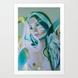 Innocence Verde Art Print