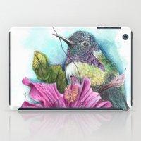 hibiscus iPad Cases featuring Hibiscus by Maria Trillidou