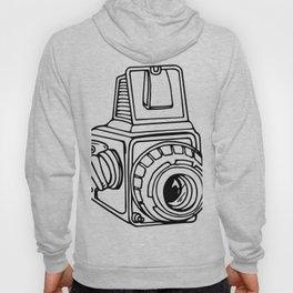 Medium Format SLR Camera Drawing Hoody
