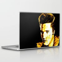 elvis presley Laptop & iPad Skins featuring Elvis Presley by GittaG74
