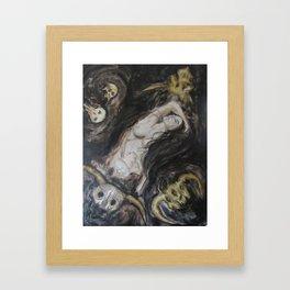 Black Broth Framed Art Print