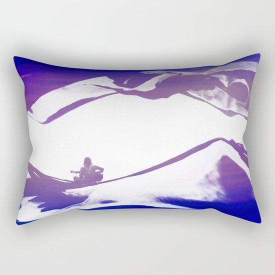 Purple Song of isolation Rectangular Pillow