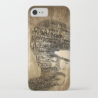 pulp fiction iPhone & iPod Cases featuring pulp fiction by de4macja
