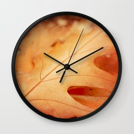 AFE Autumn Leaves, Nature Photography Wall Clock
