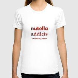 Nutella Addicts Unanonymous T-shirt