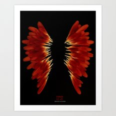 Create your own wings Art Print