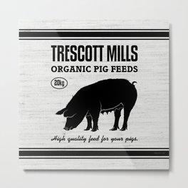 TRESCOTT MILLS Metal Print