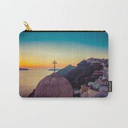 Adorable Santorini Carry-All Pouch