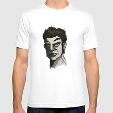 The Face MEDIUM Mens Fitted Tee White