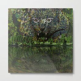 JUNGLE / Cheetah Metal Print